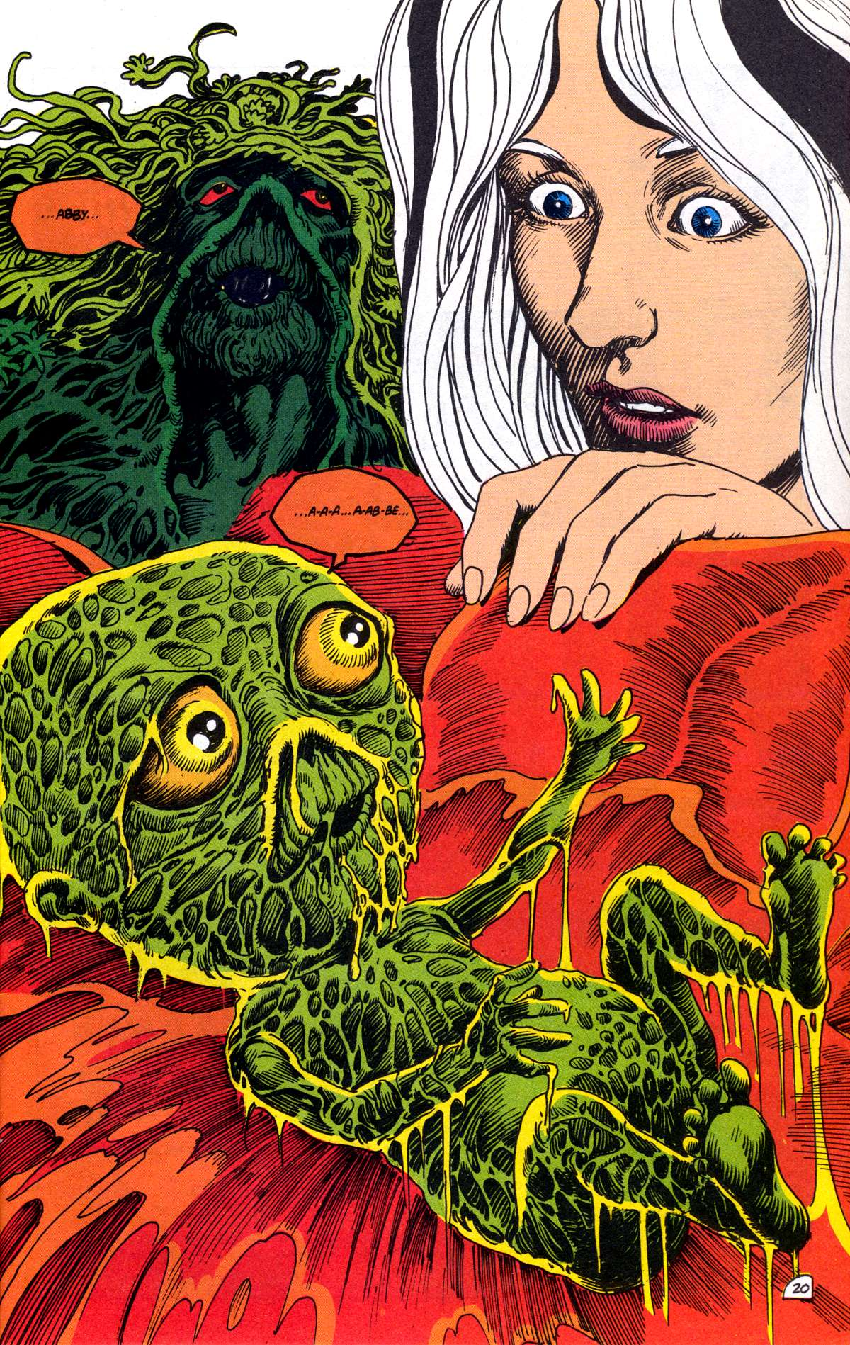 Swamp Thing (1982) Issue #78 #86 - English 21
