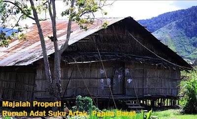 Desain Bentuk Rumah Adat Arfak dan Penjelasannya, Rumah Adat Papua Barat