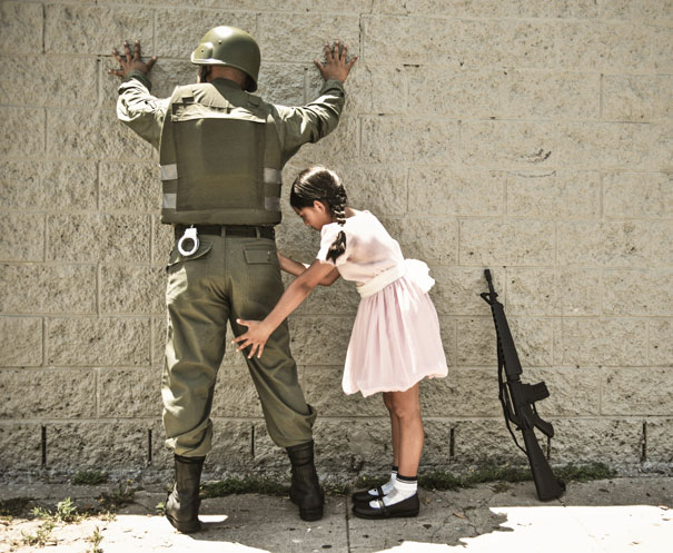 Banksy Artwork Recreated in Real Life-13