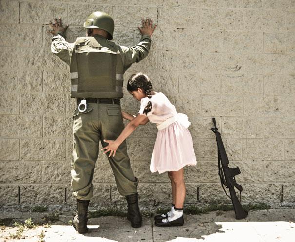 Banksy Artwork Recreated in Real Life-13