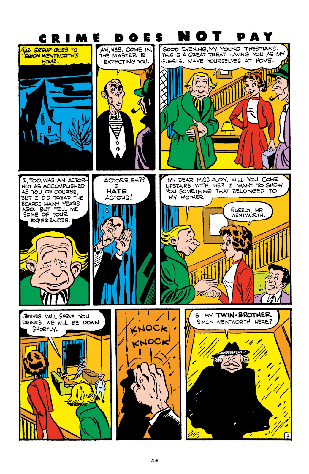 Read online Crime Does Not Pay Archives comic -  Issue # TPB 2 (Part 3) - 58