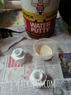 Use Durham's Water Putty to fill in the tops of empty legs! Great Idea!