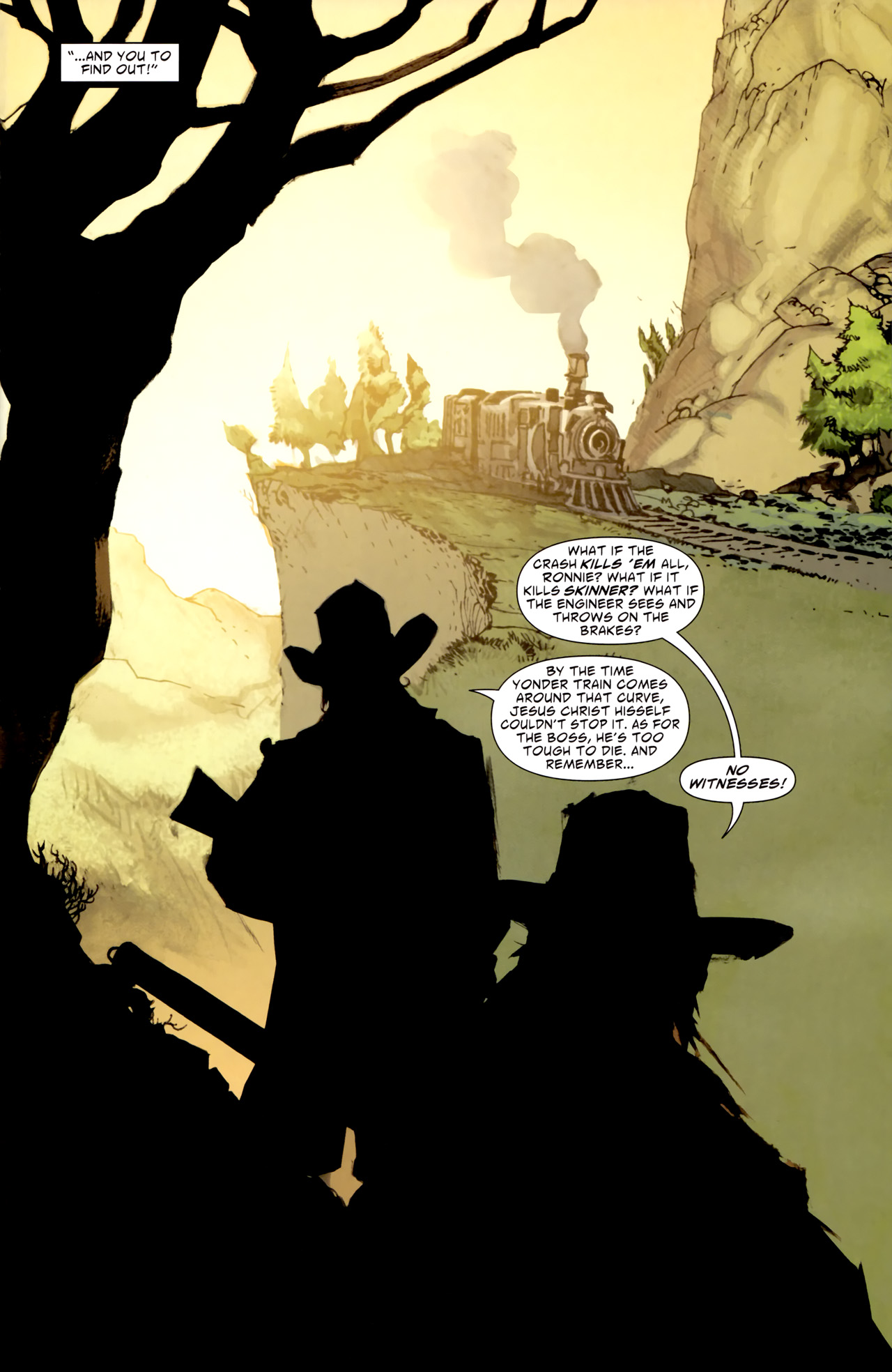 Read online American Vampire comic -  Issue #1 - 21