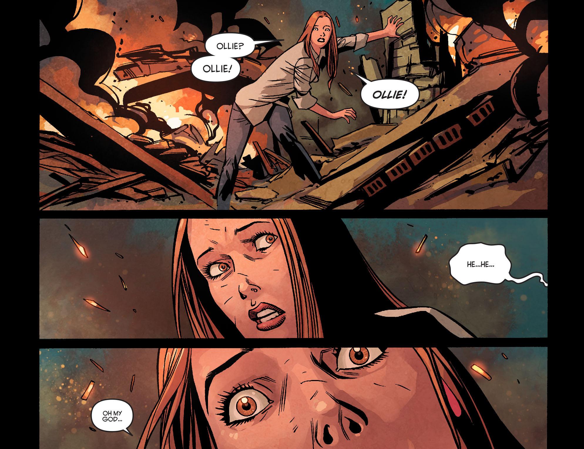Read online Arrow: Season 2.5 [I] comic -  Issue #22 - 20