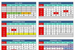 Kalender Pendidikan 2018/2019 Jawa Barat