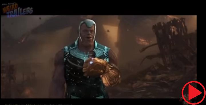 Infinity war trailer no. 6.022*10^23