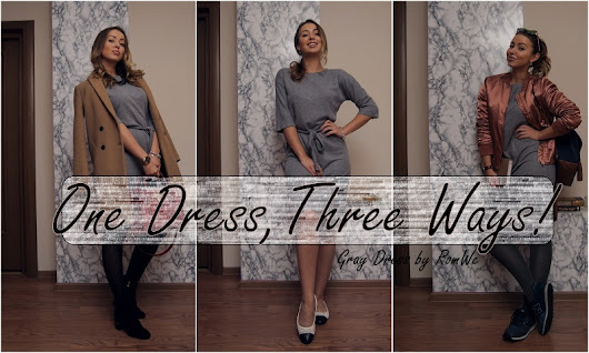 One Dress, Three Ways!