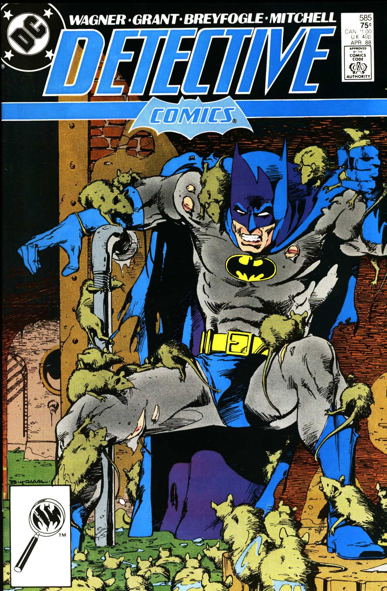 Detective Comics (1937) 585 Page 0