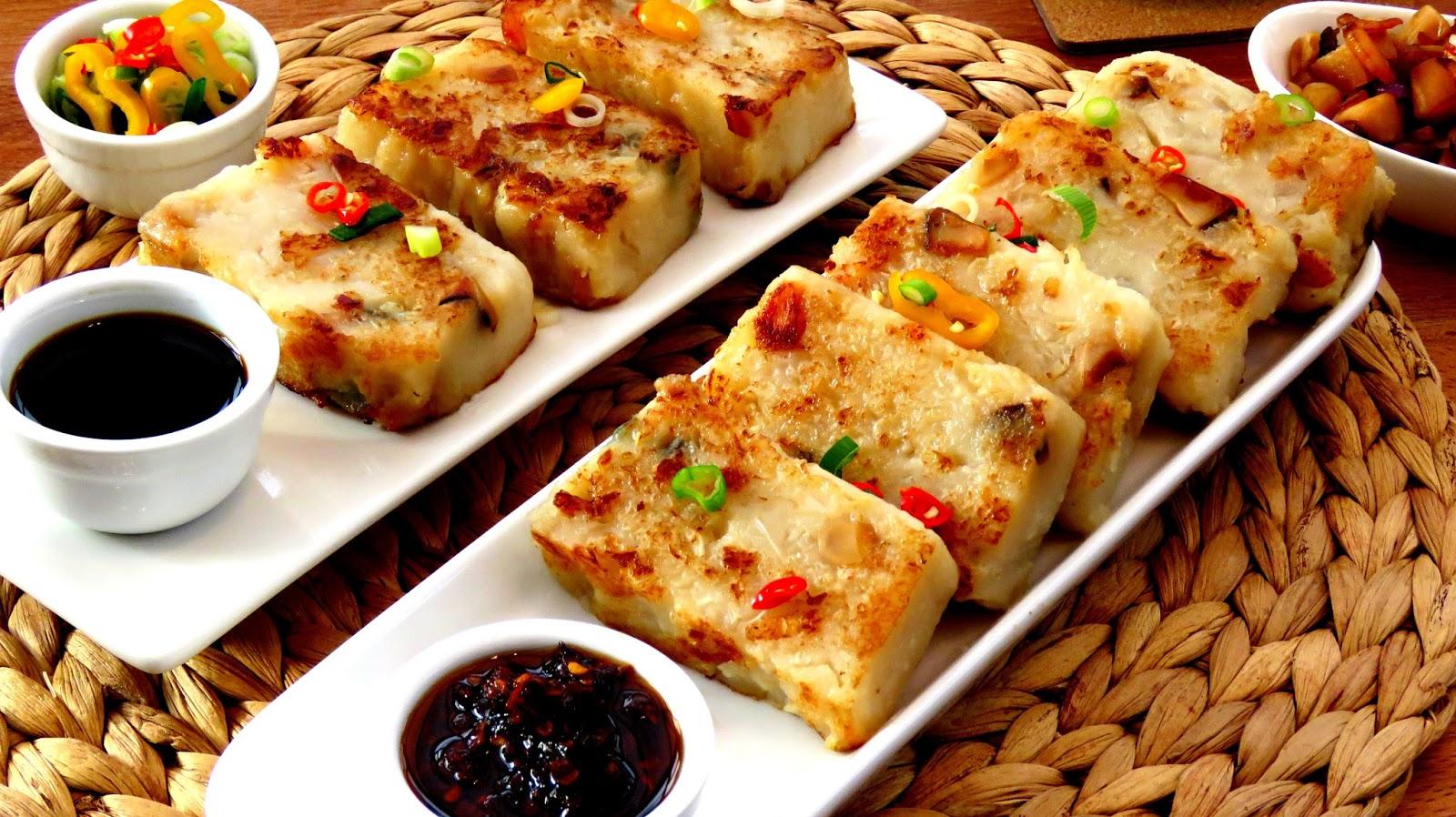 Rice Cake Chinese New Year Ingredients