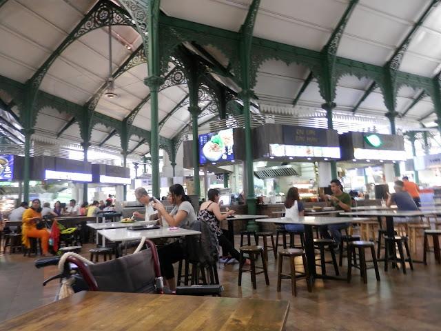 Bonnes adresses Singapour Lau Pa Sat Festival Market