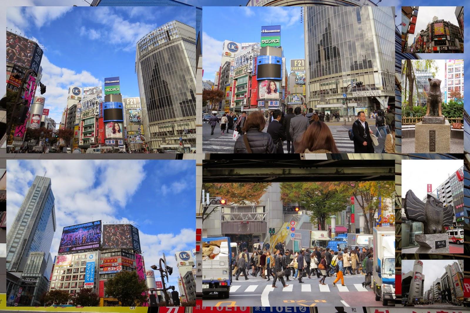 Tokyo districts: Shibuya