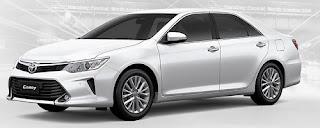 Harga Toyota Camry White Pearl Crystal Shine di Pontianak