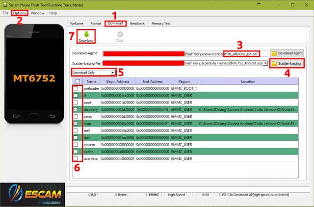 KRONO SKY Revivir y/o Actualizar (Rom / Sp Flash Tool