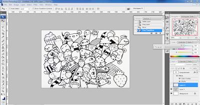 Cara Membuat Doodle Art Name di Photoshop