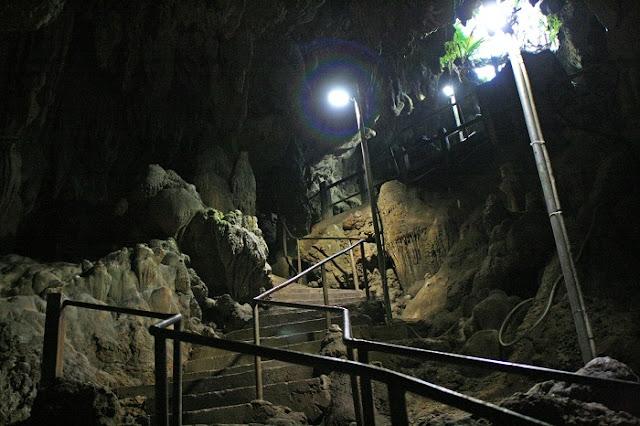 金武鍾乳洞の写真