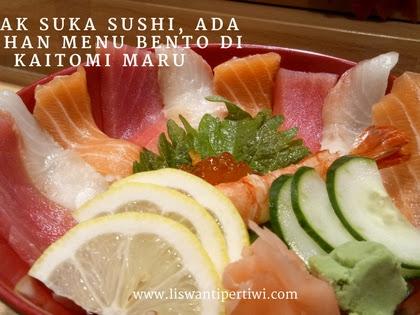 Tidak Suka Sushi, Ada Pilihan Menu Bento Di Kaitomi Maru