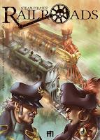 Rail Roads steampunk comics Manfont