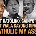 Sen.Enrile May Mensahe kay Cardinal Tagle at Soc Villegas Dahil Hindi Sila Pumalag kay Atio