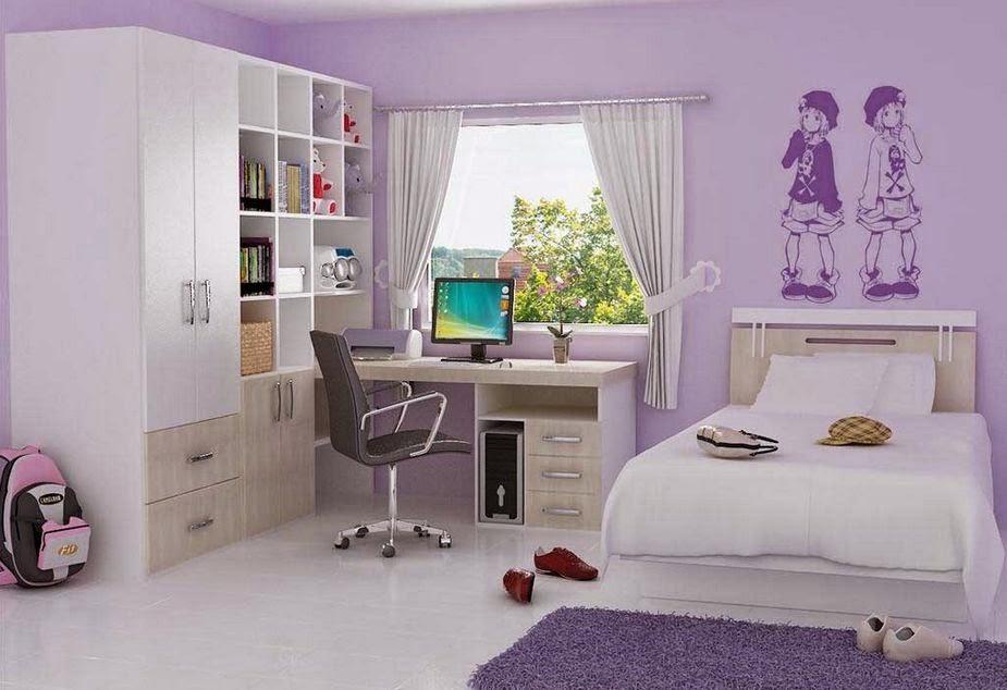 Pilihan terbaik warna dinding kamar tidur minimalis 2015 ...