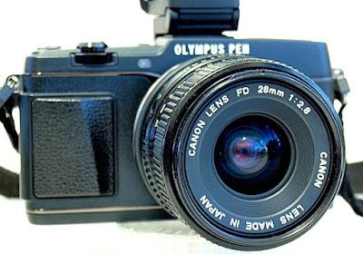 Olympus E-P5, Canon FDn 28mm F2.8