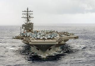 Hoa Kỳ và Trung Quốc đang hướng tới một cuộc chiến trên biển ở Châu Á?