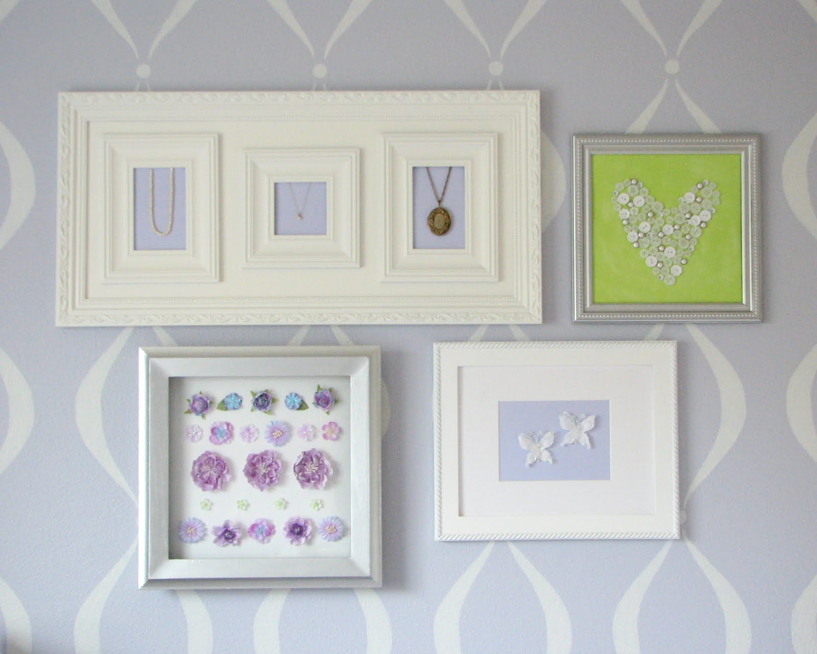 What I Made Today: Baby Girl's Nursery: Wall Art