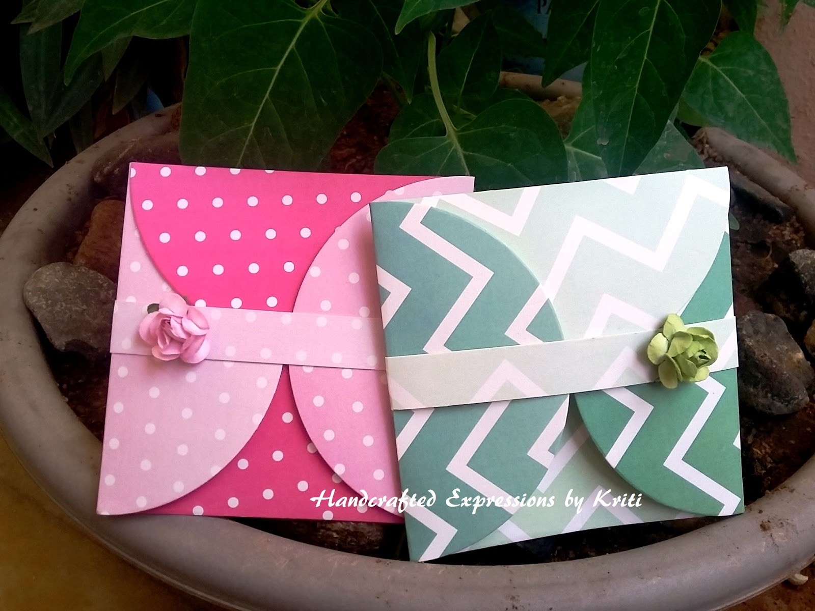 Handcrafted Expressions by Kriti: DIY Gift Envelopes by Kriti Mishra