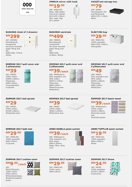 IKEA Malaysia Product Catalogue Special Offers