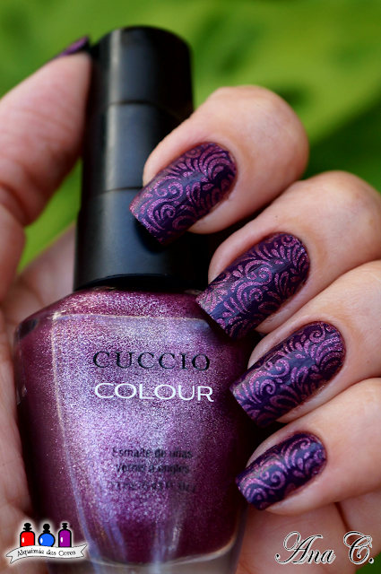 Cuccio, matte, Rose Gold Romance, DRK Magic Garden, Moyra purple