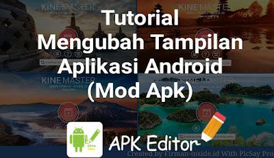 Tutorial Mengganti Gambar Background Pada Aplikasi Android (Mod Aplikasi Kinemaster)