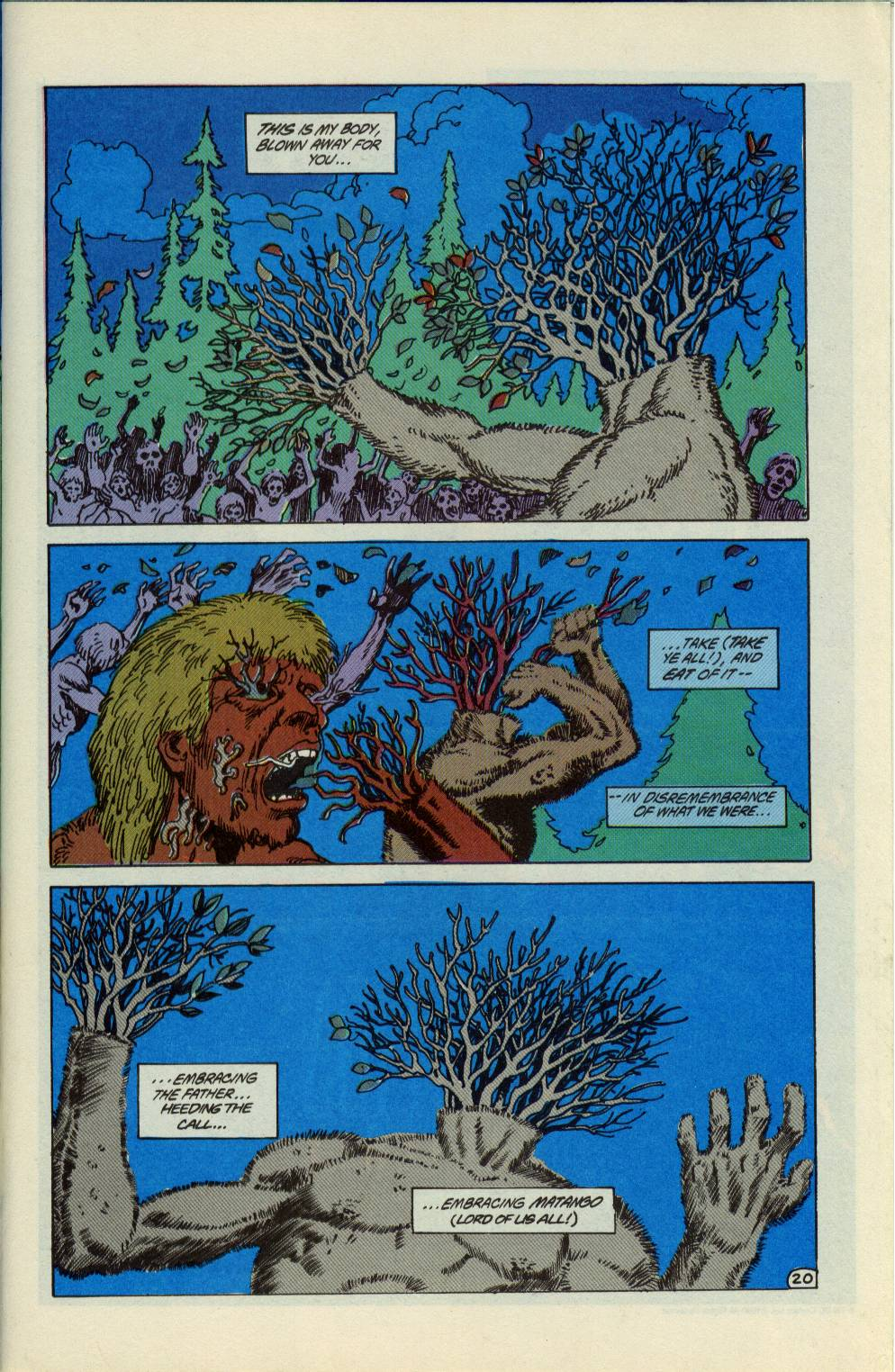 Swamp Thing (1982) Issue #99 #107 - English 21