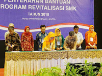 Kemendikbud Beri Bantuan Program Revitalisasi Kepada 219 SMK