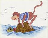 La scimmia e la tartaruga