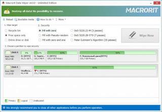 Macrorit Data Wiper 4.2.0 Unlimited Edition Full Version