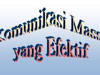 Komunikasi Massa yang Efektif