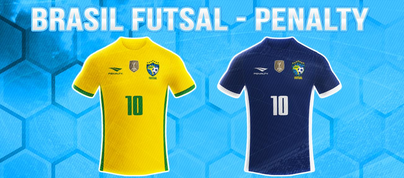 4cd82f6c7148d A Seleção Brasileira de Futsal está de uniforme novo. Após parceria com a  Pulse