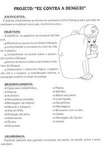 atividades dengue