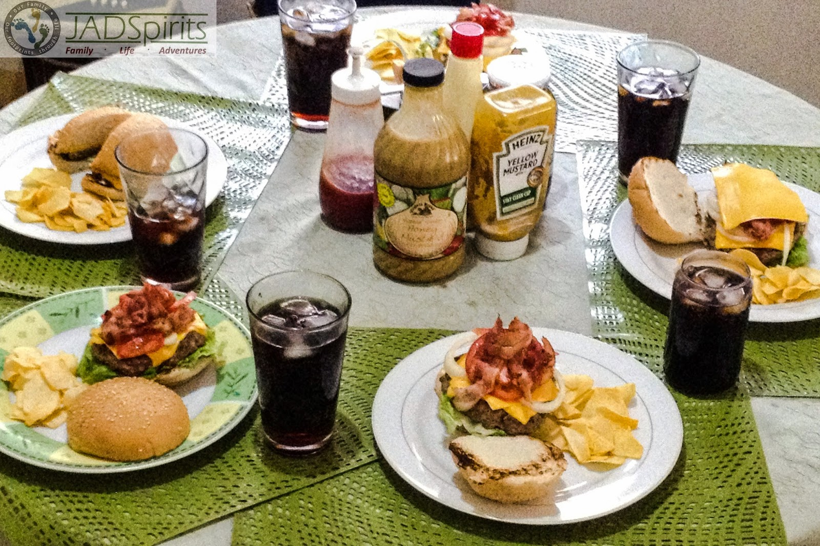 family, food, recipe, burger, dinner