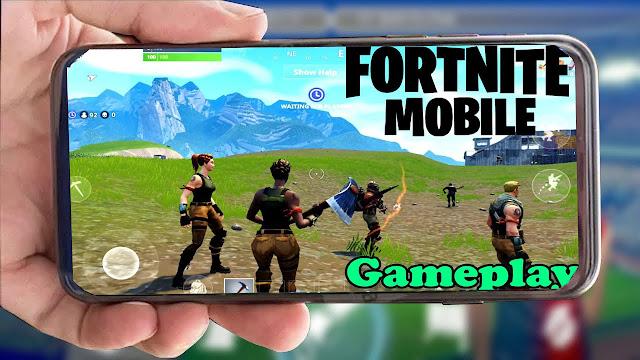 رسميا تحميل لعبة FORTNITE MOBILE النسخة الأصلية للايفوان +GAMEPLAY