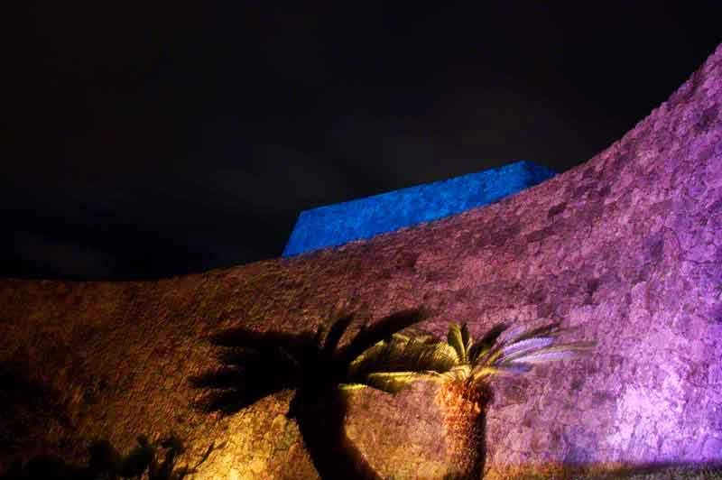 Zakimi Castle Illuminated