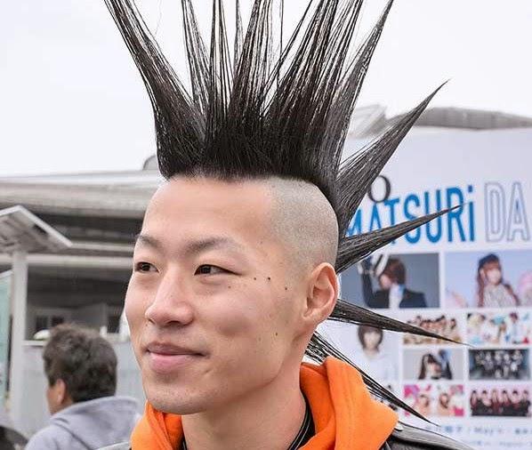 Long Mohawk Hairstyles For Men
