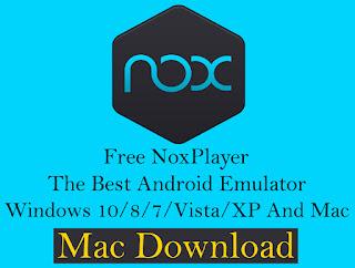 nox player download mac