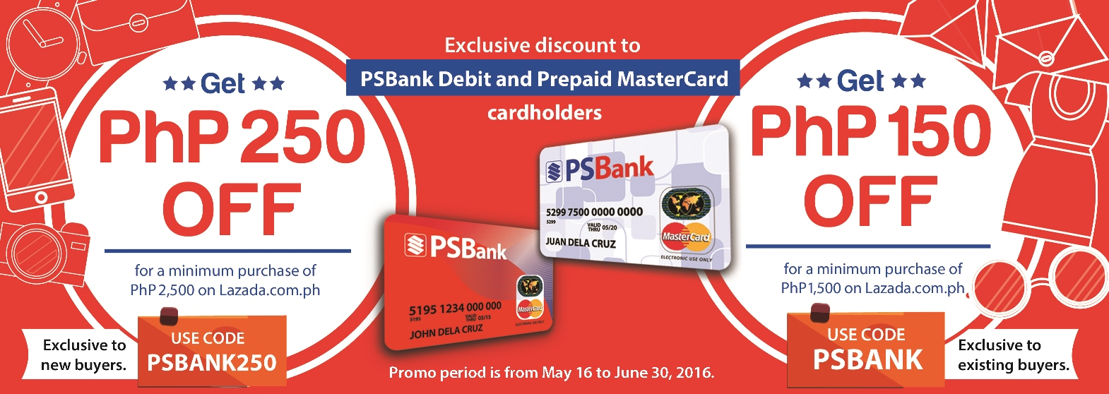 PSBank Debit or Prepaid card Promo