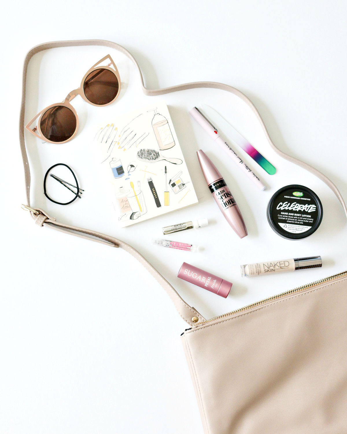 Everyday Handbag Essentials | A Girl, Obsessed