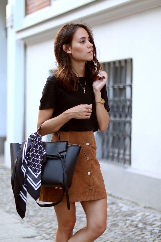 diy a line skirt with buttons my kitsch world