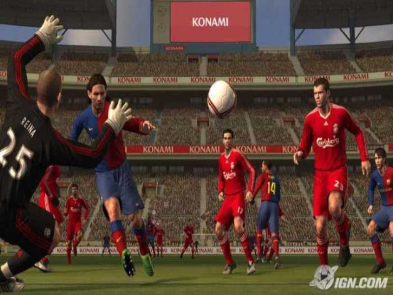Download PES Pro Evolution Soccer 2009 Game Setup Exe