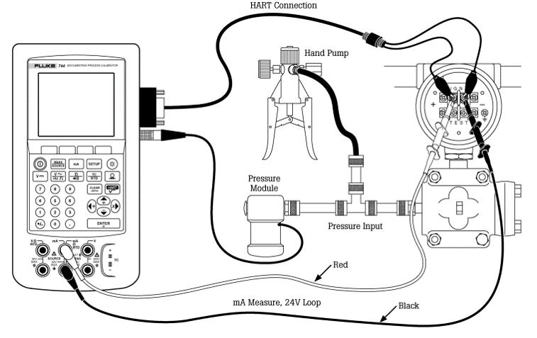 Hart Pressure Calibration And Zero Calibration Of Pressure