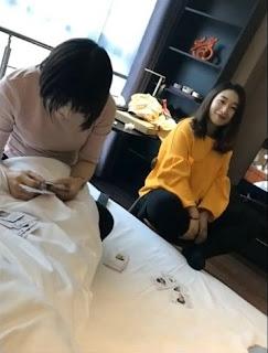 หลุด 2 สาวจีน กับ 1 หนุ่ม