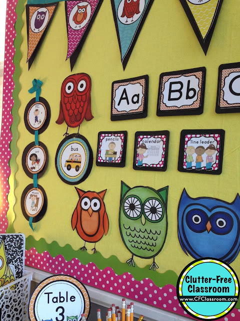 Are you planning an owls themed classroom or thematic unit? This blog post provides great decoration tips and ideas for the best owls theme yet! It has photos, ideas, supplies & printable classroom decor to will make set up easy and affordable. You can create an owl theme on a budget!