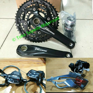 Groupset Touring Shimano Deore XT T8000